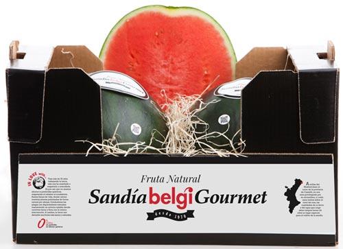 Gourmet Belgi Watermelon Box