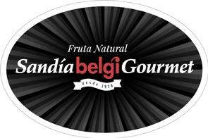 Gourmet Belgi Watermelon Label